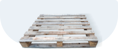Поддон деревянный облегченный